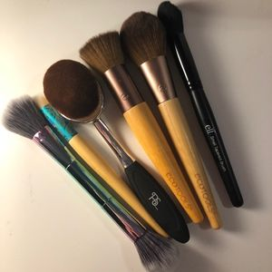 Makeup Brush Bundle (Elf, Eco Tools)